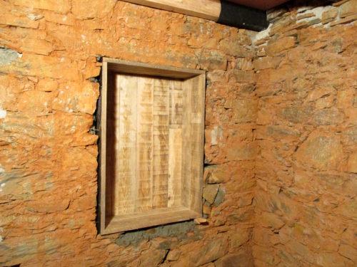 Historische Mauernische, Casa Fogo, Goladinha, Einbauschrank, Goladinha