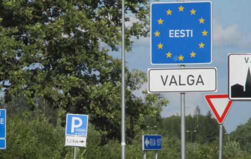Estland, Grenze, Goladinha