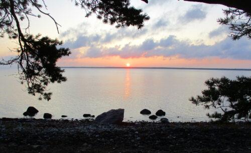Estland 5 - Sonnenaufgang über der Ostsee, Naturschutzgebiet Koorunomme, Goladinha