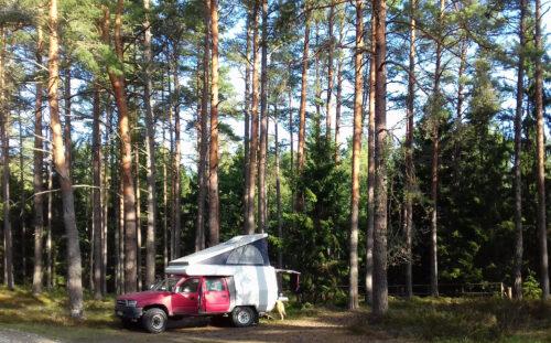 Estland 6 - Insel Hiiumaa, Stellplatz, Goladinha