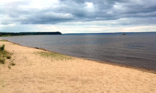 Finnland 7 - Campingplatz goldener Strand, Leirintäalue Kultahiekat, Insel Manamansalo, Goladinha