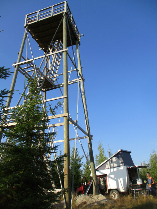 Finnland 4 -Feuerguck Turm, Goladinha