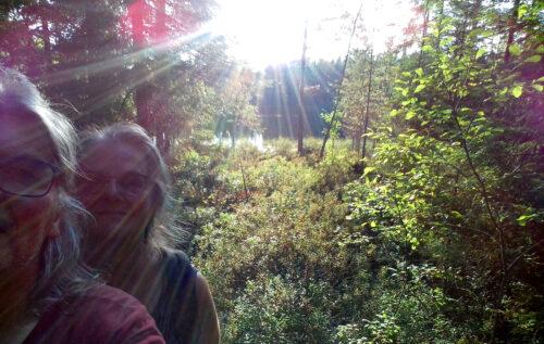 Finnland 3 -Wanderung, See, Goladinha