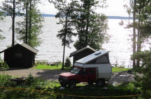 Finnland 1 - Campingplatz, Stellplatz, Goladinha