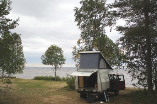 Finnland 6 - Stellplatz, Insel Manamansalo, Goladinha