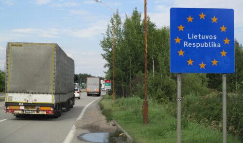 Litauen, Grenze, Goladinha