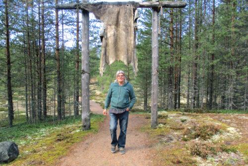 Finnland 13, Archaisches Dorf, Peurapolku, Goladinha