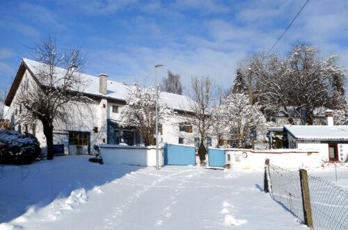 Winterspaziergang, Schnee, Sonne, Knaubenhof, Goladinha