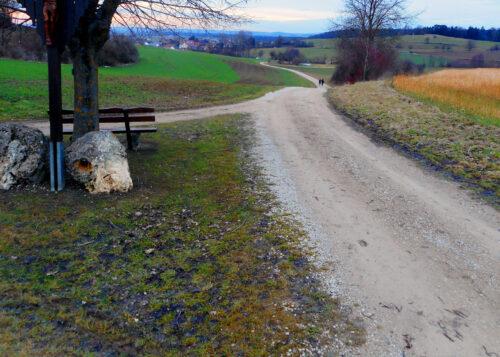 de, Deutschland, Wege 2, zwei, Knaubenhof, Goladinha